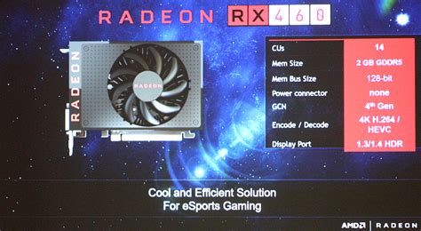 Amd Confirms Radeon Rx 470 And Rx 460 Specifications