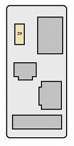 Toyota Rav4  Xa10  1998 - 1999  - Fuse Box Diagram