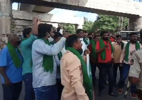 Karnataka farmers protest farm bills passed in parliament ...