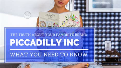 The Truth About Your Favorite Brand Piccadilly