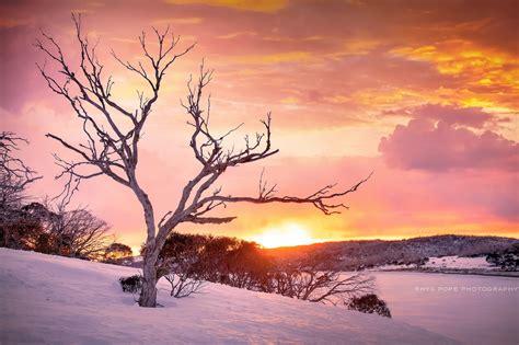 sky, Sunlight, Winter, Nature, Snow, Colorful, Landscape ...