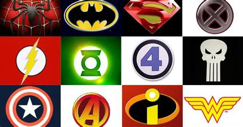 Every Superhero Logo
