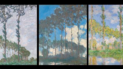Monet's Poplars | The National Gallery, London - YouTube