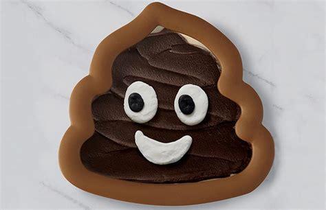poop emoji swirl cookie cutter