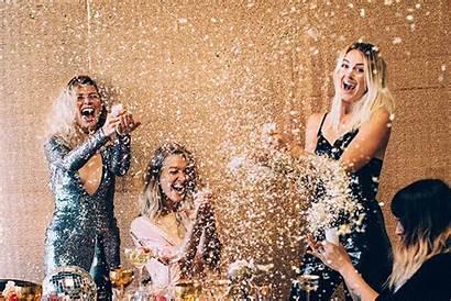 Party Holiday Season Disco Sparkly Confetti Glitter