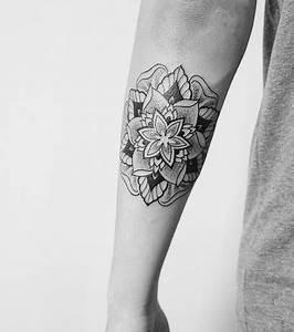 Tatouage Arriere Bras : tatouage mandala les plus beaux mod les et motifs ~ Melissatoandfro.com Idées de Décoration