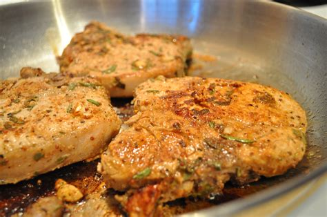 fry pork chops pan fried pork chops roasted vegetables gluten free zen