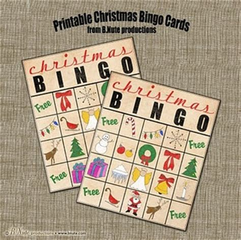 20 free printable christmas bingo cards. 22 best images about work christmas party on Pinterest ...