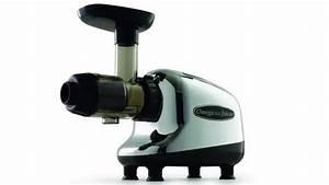 Omega J8005 Nutrition Center Single-gear Household Masticating Juicer  Chrome And Black