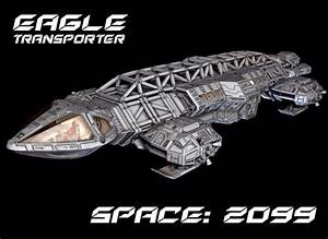 Space: 2099 - Eagle transporter redesign concept by ...