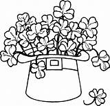 Coloring St Pages Patrick Patricks Printable Childrens sketch template