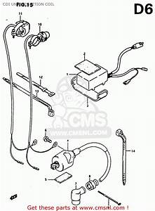Suzuki Rm80x 1986  G  Cdi Unit - Ignition Coil