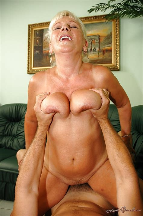 busty granny gets her hairy twat fingered and fucked hardcore