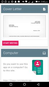 top   resume apps  android   apps