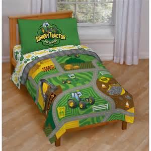 johnny tractor toddler bedding set wayfair