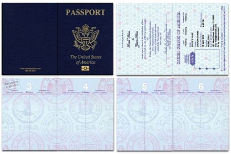 passport cover template printable passport cover template