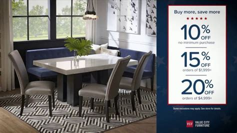 Check spelling or type a new query. Value City Furniture Presidents Day Sale TV Commercial, 'Doorbuster Deals: Free Ottomans' - iSpot.tv