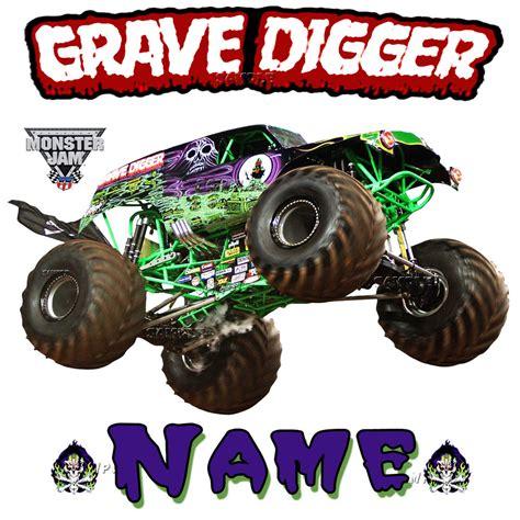 monster truck jam ta new grave digger monster truck jam show personalized t