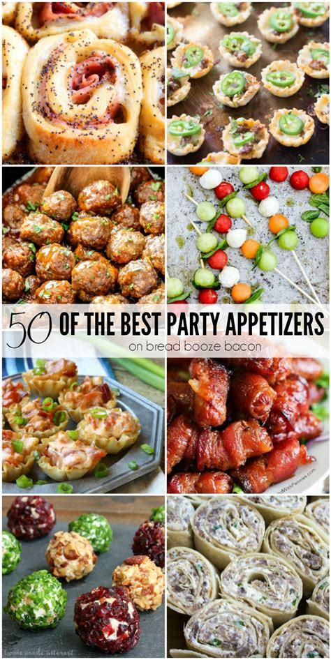 50 Of The Best Party Appetizers • Bread Booze Bacon
