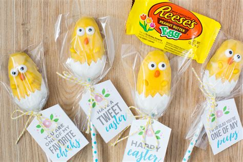 ideas for easter treats easter chick treats with free printable i heart nap time
