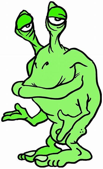 Alien Clipart Space Drawing Weird Creature Domain