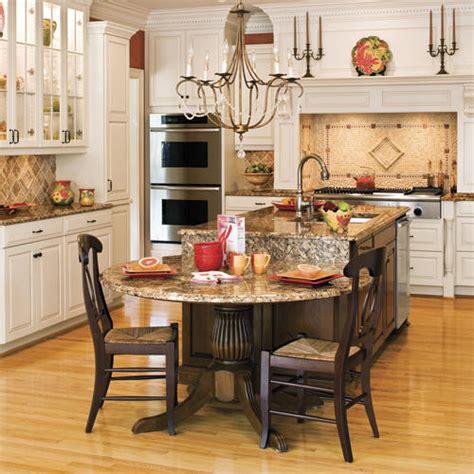 2 level kitchen island stylish kitchen island ideas southern living