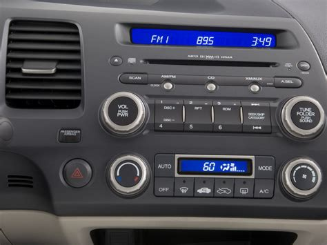 image  honda civic hybrid  door sedan instrument