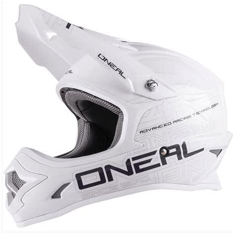 oneal motocross helmets oneal 2017 3 series flat white motocross helmet