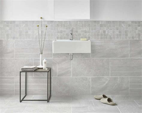 Inverno Grey Marble Rectified Wall And Floor Tile   Wall