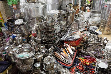 boutique ustensiles de cuisine boutique asiatique d ustensiles de cuisine image stock