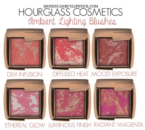 hourglass ambient lighting blush impressions hourglass ambient lighting blush in