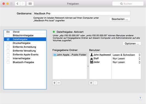 Store Wiederherstellen by Auf Dem Mac Eine Verbindung 252 Ber Die Dateifreigabe