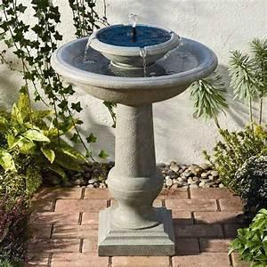 Fontaine solaire de jardin un choix sage et ecolo for Fontaine solaire exterieur jardin