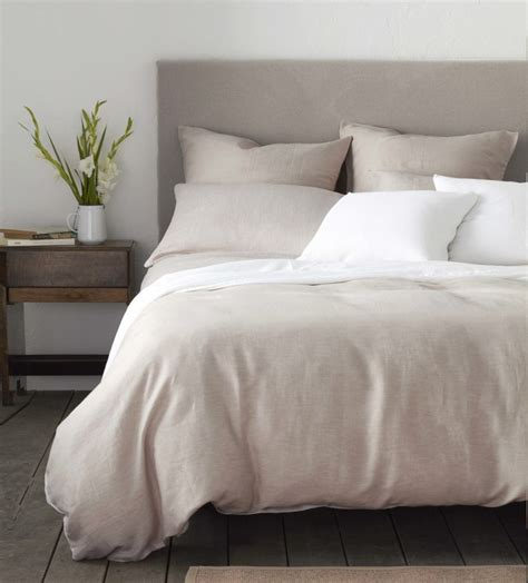 relaxed denim natural linen bedding secret linen store