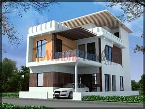 3D Front Elevation Design, Indian Front Elevation, Kerala ...