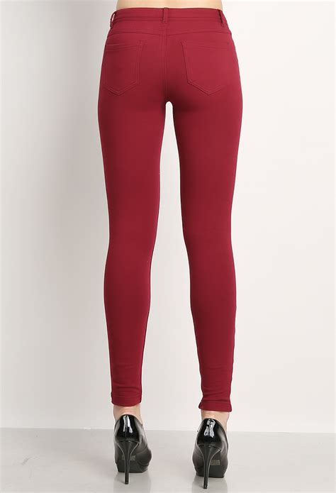 colored jeggings cotton colored jeggings shop jeggings at