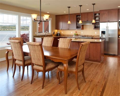open floor plan kitchen and dining room dining room remodels ventana construction seattle 9660
