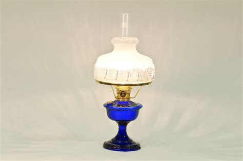 Vb2312b-5019r Aladdin Alexandria Cobalt Brass Hdwr Lamp