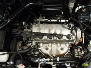1998 Honda Civic Lx Sedan 1 6 Liter Sohc 16v 4 Cylinder Engine Photo  38223213