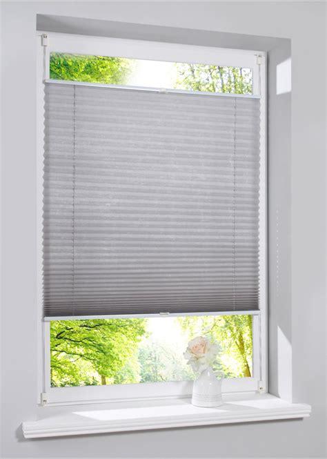 plissee rollo dachfenster plissee quot vlies quot grau wohnen bonprix de