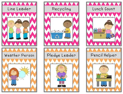 bright chevron chart cards freebie classroom ideas 924 | 34769f65f81d74bf4ad5285adb951287