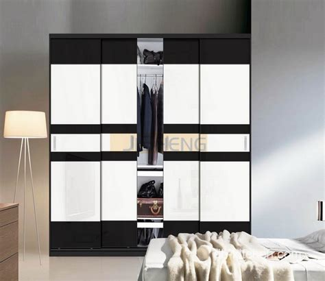 design for small bathroom modern wardrobes design with black and white color