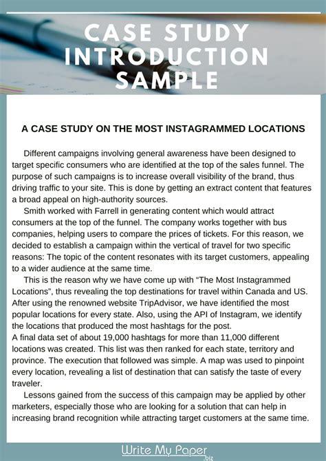 case study paper  education