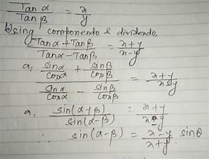 Tan Alpha Berechnen : trigonometry if theta alpha beta such that frac tanalpha tanbeta frac x y ~ Themetempest.com Abrechnung