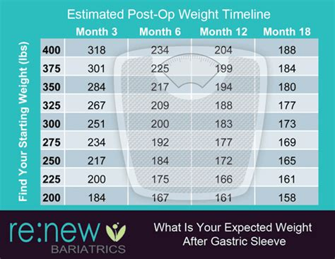 gastric sleeve expected weight loss timeline  months   years