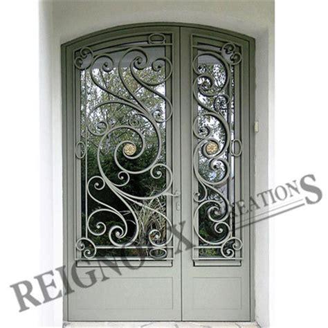 decoration des portes en fer porte fer forg 233 menuiserie
