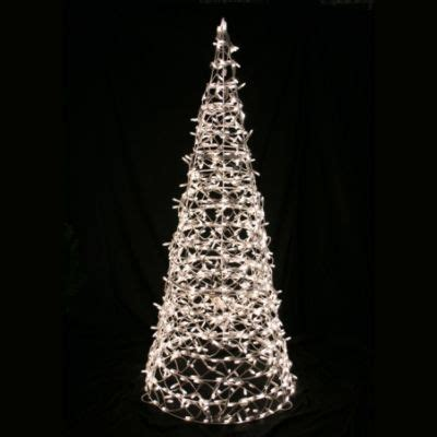 clear cone lighted trees the most wonderful time of the