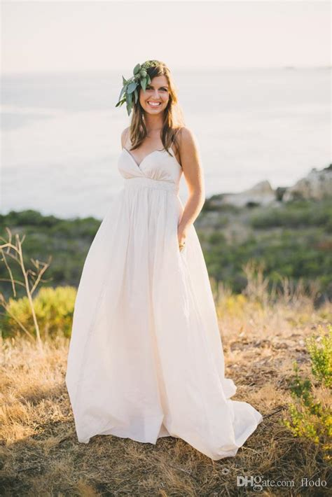 discount maternity beach wedding dresses sexy  size