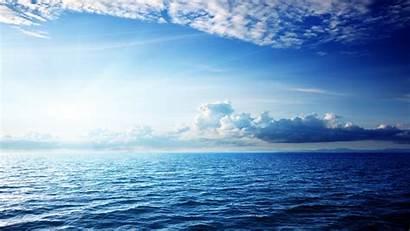 4k Sea Ocean Sky Clouds Nature 5k