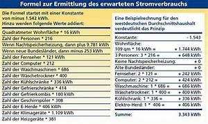 Stromkosten Gerät Berechnen : stromverbrauch die formel zur stromberechnung ~ Themetempest.com Abrechnung